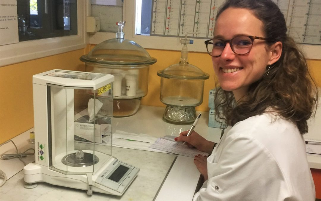 Maude Ducrocq: PhD at INRA on GreenProtein