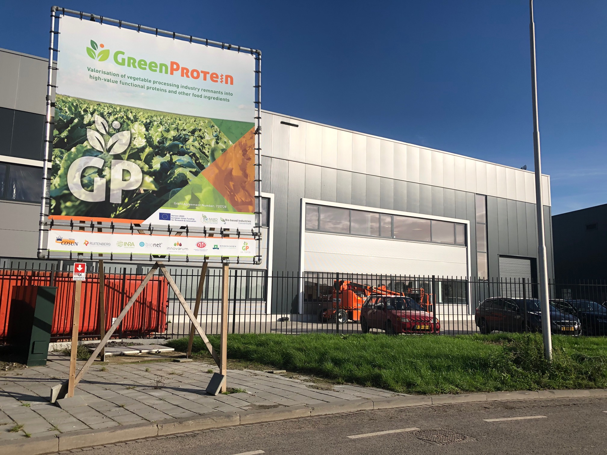 GreenProtein Demo Plant