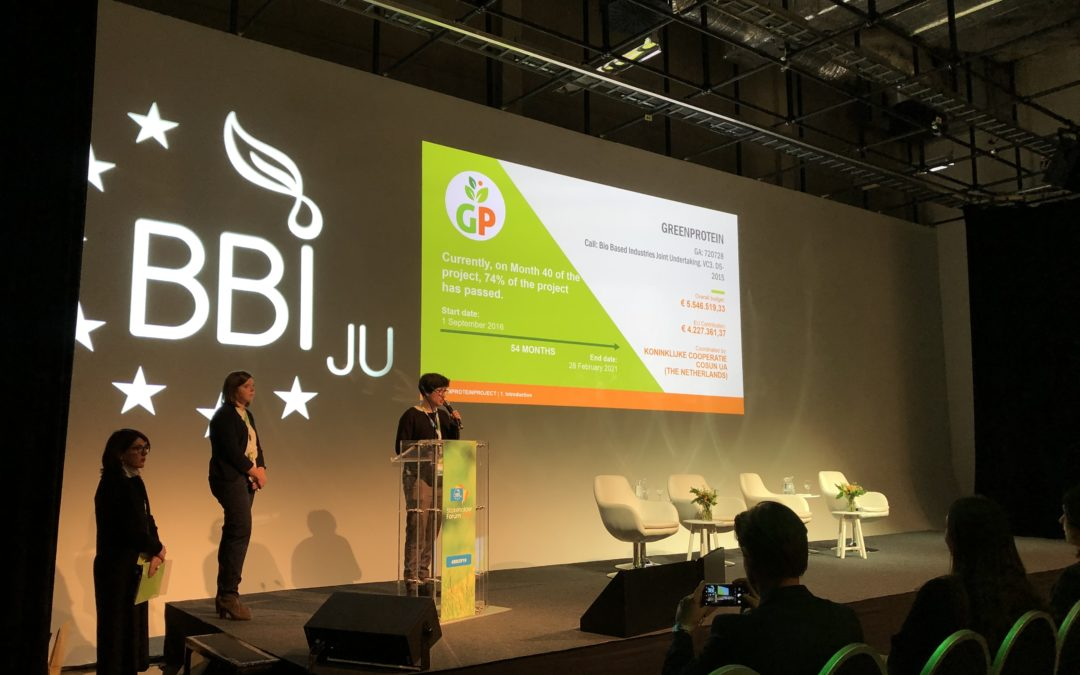 GreenProtein at the BBI JU Stakeholders Forum