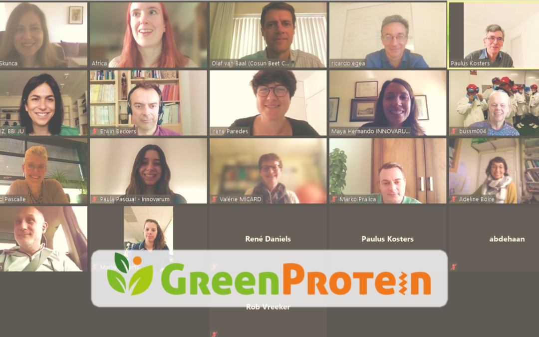 Goodbye to the GreenProtein project!